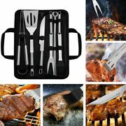Grilling Utensils Stainless Steel Bbq Tools Barbecue Accessories Outdoor Cooking