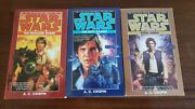 Star Wars Han Solo Trilogy By A C Crispin Paperback Collection Vol 1-3