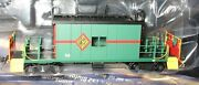 Ho - Bluford Shops - Transfer Caboose Chicago And Illinois Midland 34 - 35080