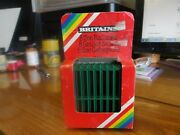 Britains 8 Zoo Railings 1397. New Box Has Been Opened., All Very Good, 12036