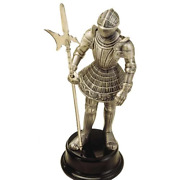 Miniature Medieval Knight Suit Of Armor With Halberd By Marto Of Toledo Spain 81