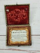 Rare 25 Cents Antique Ambrotypes And Daguerreotypes Vintage Picture Frame
