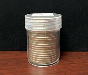 1971 D Unsearched Kennedy Half Dollar Roll 20 Coins Circulated/uncirculated 50c