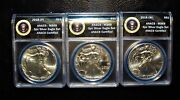 2016 Or 2017 Ase, P, S, W Ms69 Presidential Label Supplemental Sub Set