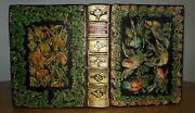 1640 Holy Bible / Ornate Binding / Floral And Ornithological Onlays / Stunning