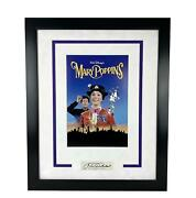 Julie Andrews Mary Poppins Autograph Signed 16x20 Framed Photo Display Acoa