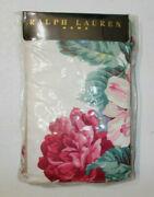 2 New Lorraine Floral Standard Pillowcases French Country Cottage