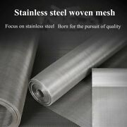 Stainless Steel Filter 80 100 120 200 300 400 500 Mesh 180-25 Micron Filtration