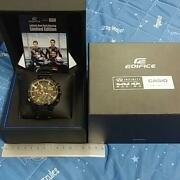 Casio Edifice Red Bull Racing Limited Edition With Bluetooth Eqb-500rbk-1ajr Min