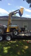 1952 Ford 8n Tractor W Loader Starts And Runs Ford Bushog Is Included