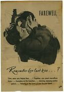 Remember Her Last Kiss German Wwii Nazi Propaganda For Americans Leaflet