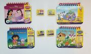 Leap Frog My First Leap Pad Books And Cartridge Lot Of 4 Preschool