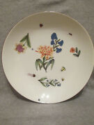 Meissen Porcelaincharger With Kinger Bugs And Flowers 1740 1