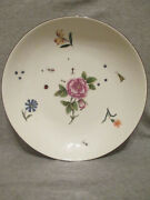 Meissen Porcelaincharger With Kinger Bugs And Flowers 1740 2