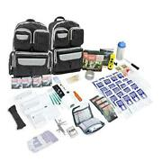 Urban Survival 72-hour Bug Out/go Bag   Perfect Way To Prepare Your 4 Person