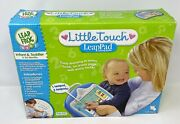 Leapfrog Little Touch Leappad Learning System Infant And Toddler 6 - 36 Month Blue