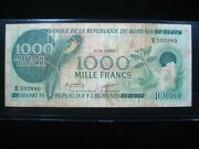 Burundi 1000 Francs 1980 Africa Cows Scarce 880 World Banknote Currency Money