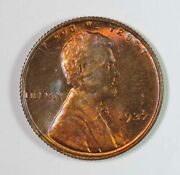 1937 Lincoln Wheat Cent Penny 1941 Ana Convention Reeded Edge Bu High Grade Reed