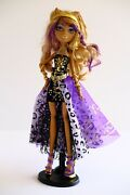 Monster High 13 Wishes Haunt The Casbah Clawdeen Wolf Doll Exclusive 2013 Figure