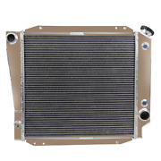 4 Row Aluminum Radiator For 1966-1977 Ford Early Bronco Wagon Roadster 5.0l V8