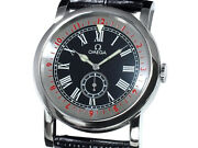 Auth Omega Pilot Specialties 516.13.41.10.01.001 Ss Auto Menand039s Watchf1312