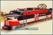 Duo Cards 1998 Lionel Greatest Trains Locomotives Sample Promo 2 Of 2 Free Ship