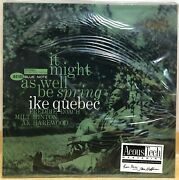Ike Quebec - It Might As Well Be Spring / 180g Vinyl 45rpm 2lp New Sealed 0927