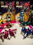 Gobots / Monsterous / Combiner /1986 / Complete / 2 Of 6 Are Mosc / Exclnt Condt