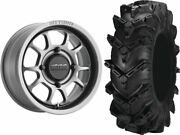 Mounted Wheel And Tire Kit Wheel 15x8 4+4 4/156 Tire 32x10-15 6 Ply