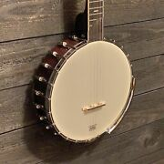 Gold Tone Ot-700a/l Left Handed Old-time A-scale Tubaphone Banjo W/ Case
