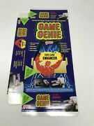 Lot Of 24 Brand New And Unfolded Game Genie Box For Nintendo Nes Galoob Rare Oem