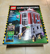 Read Description New Sealed Lego Ghostbusters Firehouse Headquarters 75827