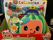 Cocomelon Musical Doctor Checkup Set Case 4 Play Pieces New Medical Kit