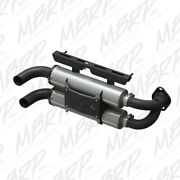 Mbrp Slip On Dual Performance Mufflers For Polaris Rzr Xp 1000 15-16 At-9517pt