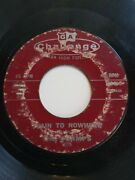 1958 The Champs Train To Nowhere/tequila 7 45 Rpm 1016 Rare Classic
