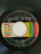 Earl Grant Swinginand039 Gently / Beyond The Reef / 45 Rpm / 1962 / Decca 25560
