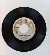 Billy Preston Nothing From Nothing / My Soul Is A Witness 45 Rpm Classic