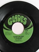 Latimore There's No End / Stormy Monday 45 Rpm Vinyl Rare Vtg Glades Records