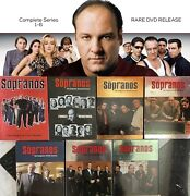 Rare Dvd Release The Sopranos Complete Series Hbo Scorcese Mob Set 6 Seasons Wow
