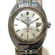 Authentic Omega C Line Constellation Womenand039s Wristwatch Silver Ss