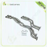 For 99-06 Bmw M3 3.2l L6 2-door Catback Exhaust Down Pipe Downpipe System