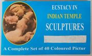 India Sexual Ecstacy In Indian Temple Sculptures Vintage Booklet Of 40 Pics