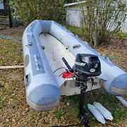 Inflatable Boat/ West Marine 310 With 6hp Mercury 4 Stroke Motor