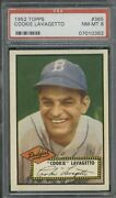 1952 Topps 365 Cookie Lavagetto