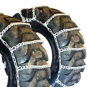 Titan Tractor Link Tire Chains Snow Ice Mud 10mm 12.4-36