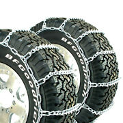 Titan Truck V-bar Tire Chains Ice Or Snow Covered Roads 7mm 11.00-20