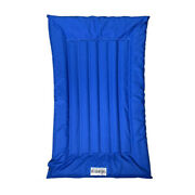 The Better Options Company Blue Lazy Dog Pool Lounger And Lake Raft Float Large
