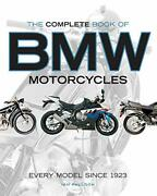 The Complete Book Of Bmw Motorcycles Every Model Since 1923 Falloon, Ian