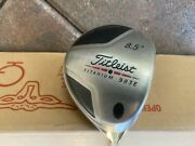 Titleist 983e Driver 8.5 Aldila Nvs 65-s With Cover