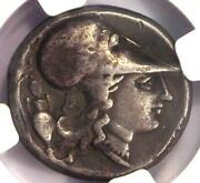 Ngc Ch F Ancient Greek Pegasus Athena Corinth Silver Coin